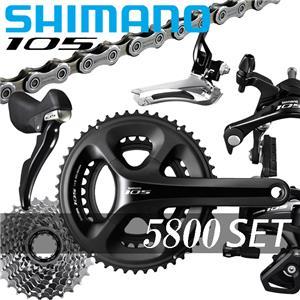 SHIMANO (シマノ) 105-5800 (ブラック) コンポセット メイン