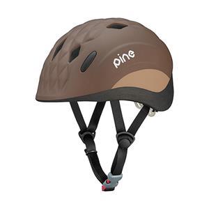 OGK (オージーケー) PINE(パイン) ベアーブラウン 47-51cm キッズヘルメット メイン
