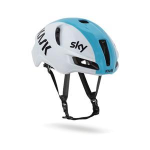2019モデル UTOPIA TEAM SKY ホワイト/ライトブルー サイズM ヘルメット