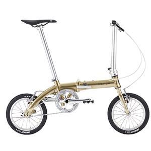 2018モデル Dove Plus ダヴプラス プレミアムゴールド 折りたたみ自転車