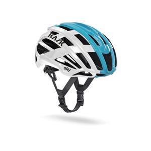 2019モデル VALEGRO TEAM SKY ホワイト/ライトブルー サイズS ヘルメット