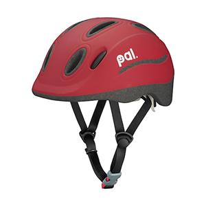 PAL(パル) アップルレッド 49-54cm キッズヘルメット