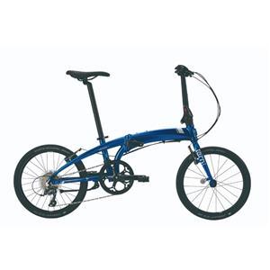 2021モデル VERGE バージュ N8 Blue/Silver(White) (142-190cm)折りたたみ自転車