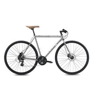 2020モデル FEATHER CX FLAT ブライトシルバー サイズ54(173-178cm) クロスバイク