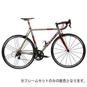 Titanio TREDUECINQUE Ti/Red WMN サイズ48 (165-170cm) フレームセット