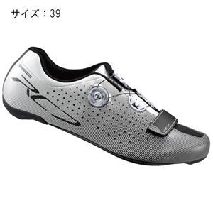 RC7 ホワイト ワイド サイズ39 (24.5cm) シューズ