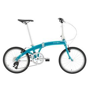 2020モデル Mu D9 ミュー エメラルド (142-193cm) 折畳自転車