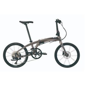 2021モデル VERGE ヴァージュ P10 DARK BRONZE/STEEL(SIL BLUE) (142-190cm)折りたたみ自転車