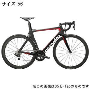 S5 ULTEGRA R8000 11S ブラック/レッド サイズ56 ロードバイク