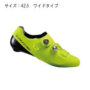 RC9 イエロー ワイド サイズ42.5(26.8cm) シューズ
