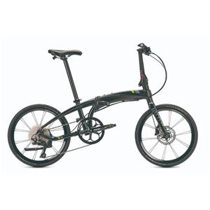 2021モデル VERGE ヴァージュ P10 SATIN BK/GRAY(LIME) (142-190cm)折りたたみ自転車