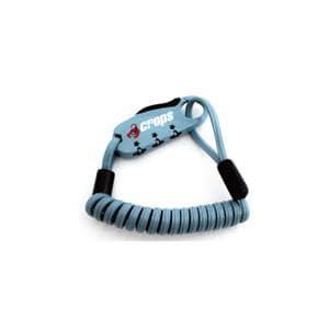 Q-BIRO mini インディゴブルー ダブルループ ワイヤーロック