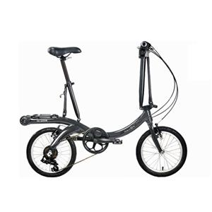 2020モデル Nu Wave16 ニューウェーブ ガンメタル (142-193cm) 折畳自転車