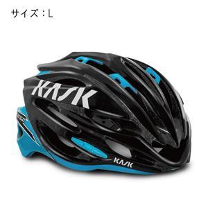 VERTIGO 2.0 ヴァーティゴ 2.0 ブラック/ライトブルー サイズL ヘルメット