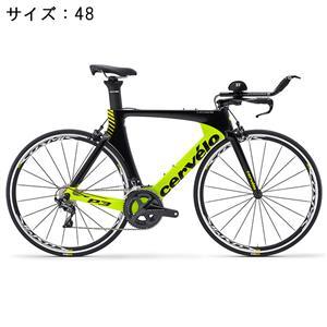 P3 ULTEGRA R8060 Di2 ブラック/フルオロイエロー サイズ48 ロードバイク