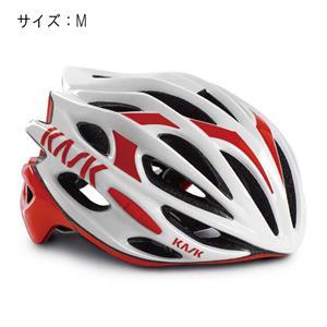 MOJITO モヒート ホワイト/レッド サイズM ヘルメット