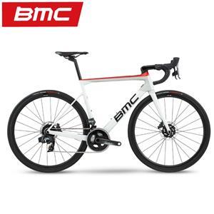 BMC  (ビーエムシー) 2020 Teammachine SLR01 DISC THREE SRAM Force eTap AXS オフホワイト&レッド サイズ56(177.5-182.5cm)ロードバイク メイン