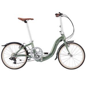 2018モデル Ciao チャオ カーキ 折りたたみ自転車