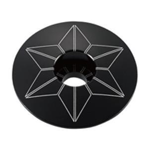STAR CAPZ anodized ブラック ヘッドキャップ