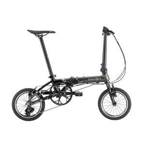2021 K3 ガンメタル×ブラック (142-180cm) 折りたたみ自転車