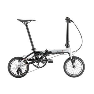 2021 K3 シルバー×ブラック (142-180cm) 折りたたみ自転車