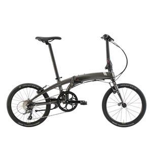 2020モデル VERGE N8 ヴァージュ マットガンメタル/ダークグレー (142-190cm) 折畳自転車