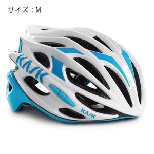 MOJITO モヒート ホワイト/ライトブルー サイズM ヘルメット
