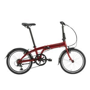 2020モデル LINK A7 リンク ダークレッド/ダークシルバー (142-190cm) 折畳自転車