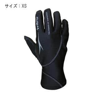 Stealth5 ステルス5 ブラック サイズXS グローブ