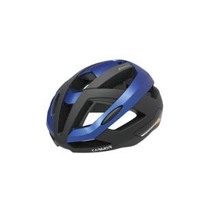 FIANZA フィアンザ ブラック/ブルー サイズS/M(55-58cm) ヘルメット