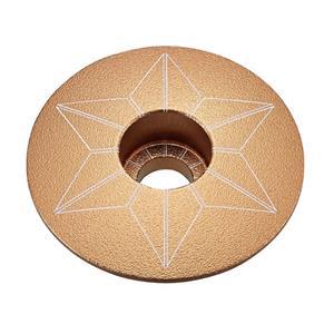 STAR CAPZ anodized ゴールド ヘッドキャップ