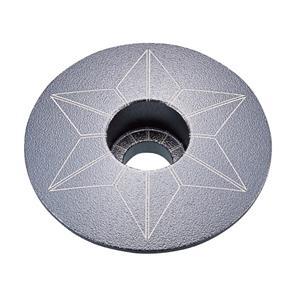 STAR CAPZ anodized ガンメタル ヘッドキャップ