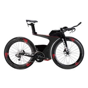 2018モデル P5X SRAM eTap ブラック/レッド サイズ48 (165-170cm) ロードバイク