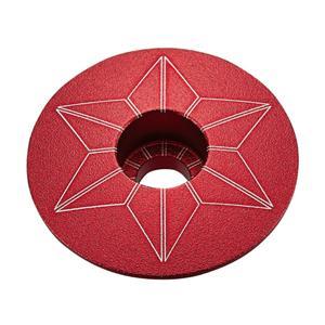 STAR CAPZ anodized レッド ヘッドキャップ