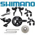 SHIMANO (シマノ) 105 R7000 ブラック コンポセット メイン