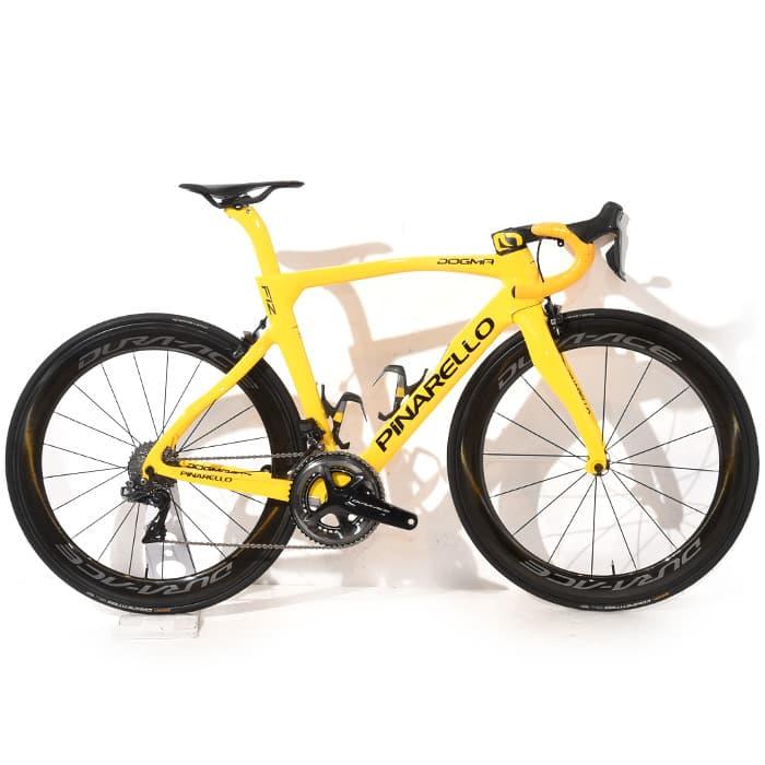 新着中古 PINARELLO 2019モデル DOGMA F12 Yellow など中古ロードバイク入荷