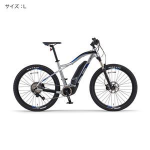 2018 YPJ-XC サイズL(178cm-) マットピュアシルバー 電動アシスト自転車
