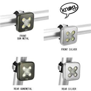 Blinder Lights-4 ブラインダー LED ライト クロス リア シルバー