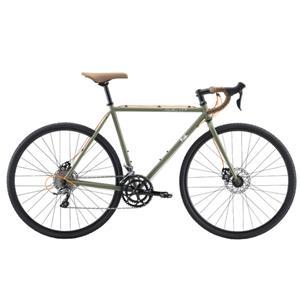 2020モデル FEATHER CX+ マットグリーン サイズ49(163-168cm) ロードバイク