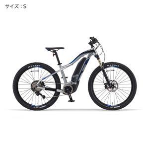 2018 YPJ-XC サイズS(156cm-) マットピュアシルバー 電動アシスト自転車