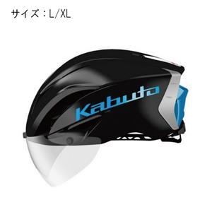 AERO-R1 エアロ-R1 ブラックブルー サイズL/XL ヘルメット