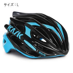 MOJITO モヒート ブラック/ライトブルー サイズL ヘルメット