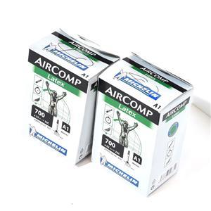 【未使用】LATEX AIRCOMP ラテックス エアーコンプ A1 700X22/23C FV 40mm 2本 チューブ