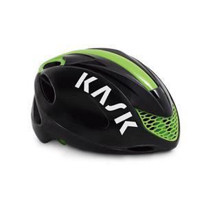 INFINITY インフィニティ ブラック/ライム サイズM ヘルメット