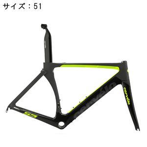 S5 ブラック/グリーン サイズ51 フレームセット