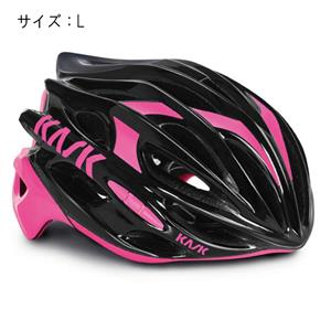MOJITO モヒート ブラック/フューシャ サイズL ヘルメット