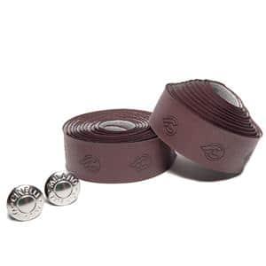 Vegan Eco-Leather ブラウン バーテープ