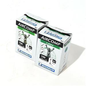 【未使用品】LATEX AIRCOMP ラテックス エアーコンプ A1 700X22/23C FV 40mm 2本 チューブ