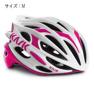 MOJITO モヒート ホワイト/フューシャ サイズM ヘルメット