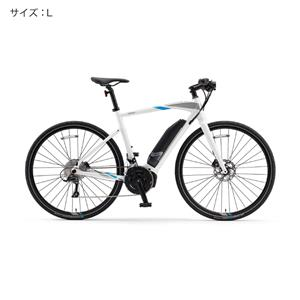 2018 YPJ-EC サイズL(170cm-) ピュアホワイト 電動アシスト自転車
